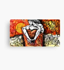 The Seated Demon Canvas Print