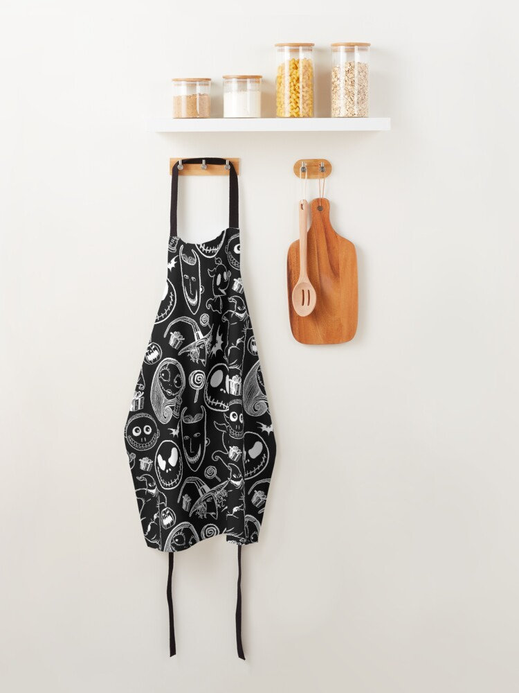 Alternate view of Nightmare before Christmas Apron
