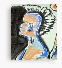 Nude female sketch #3 Canvas Print
