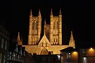 Lincoln Cathedral at night by SweetLemon