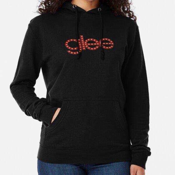 Glee logo stage lights Lightweight Hoodie