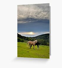 By the end of the day... Greeting Card