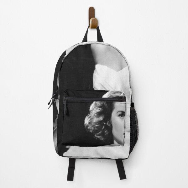 Grace Kelly white dress Backpack