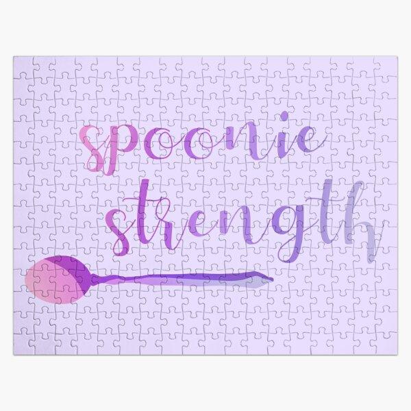 Spoonie Strength Jigsaw Puzzle
