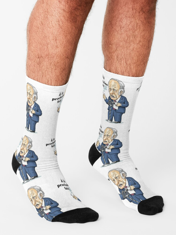 Alternate view of René Lévesque: à la prochaine fois Socks