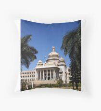 Vidhana Soudha, Bengaluru Throw Pillow