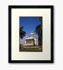 Vidhana Soudha, Bengaluru Framed Print