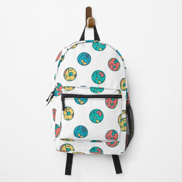 Colourful Circles Pattern Backpack