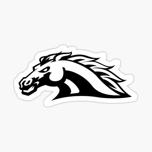 Western Michigan Bronco Sticker