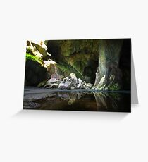 Cathedral Cavern Little Langdale  Greeting Card
