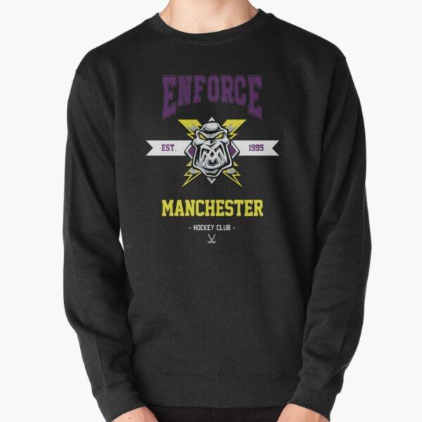 Hacer cumplir Manchester Hockey Sudadera sin capucha