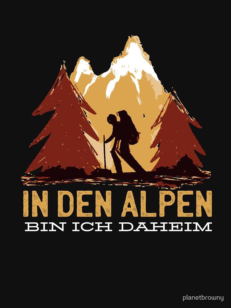 In den Alpen bin ich daheim von planetbrowny