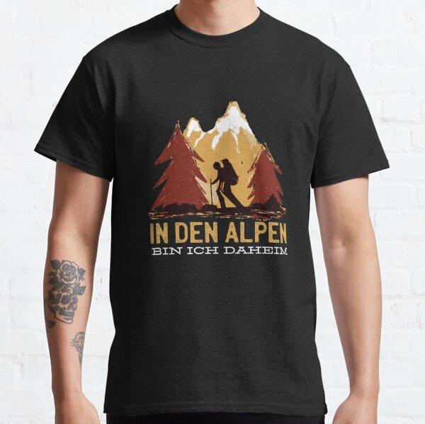 In den Alpen bin ich daheim Classic T-Shirt