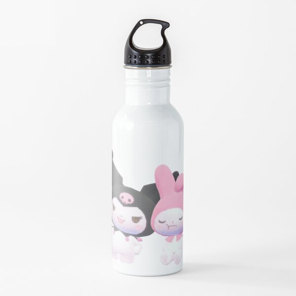 kuromi hello kitty Botella de agua