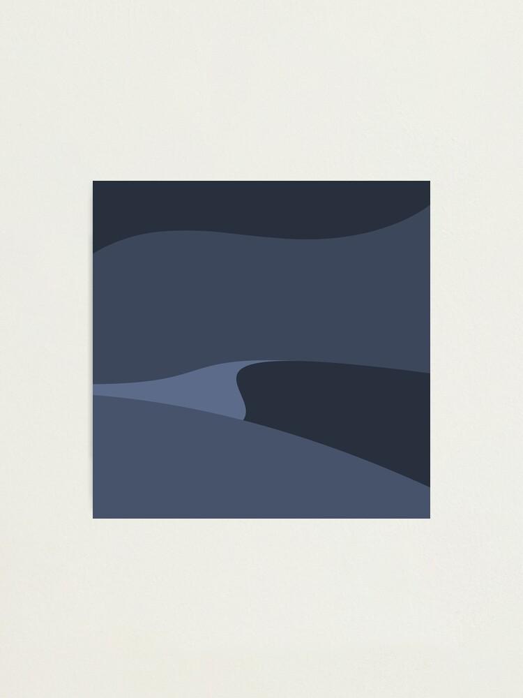 Alternate view of Minimalist Desert At Night Photographic Print