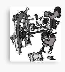 Steamboat Willie Canvas Print