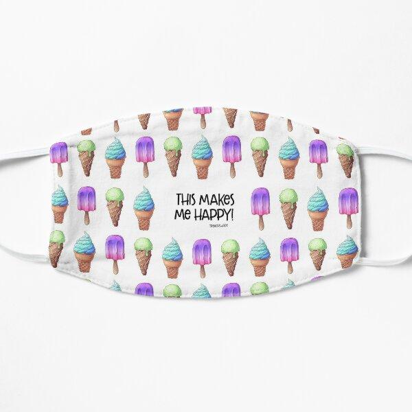 Ice Cream Makes Me Happy Mask