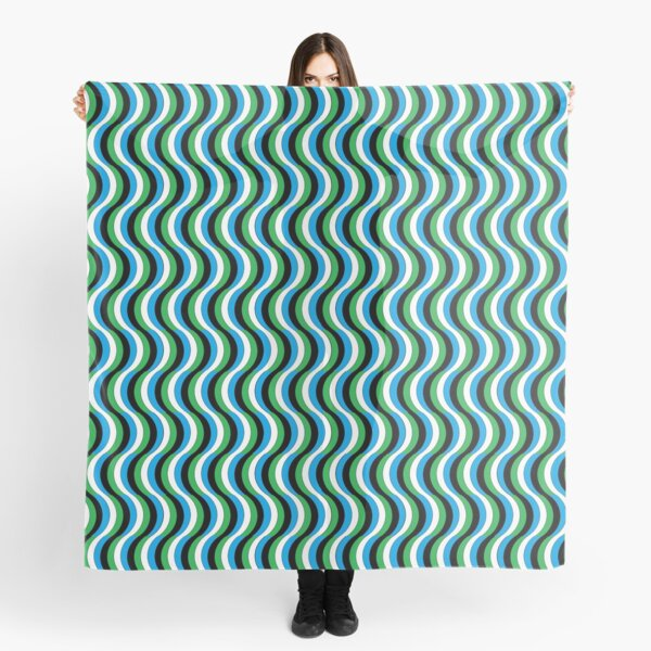 Psychedelic Waves Scarf