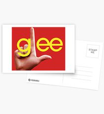 Glee losers logo Postcards