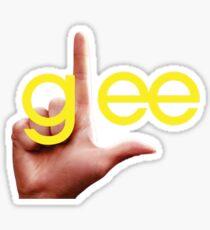 Glee losers logo Sticker