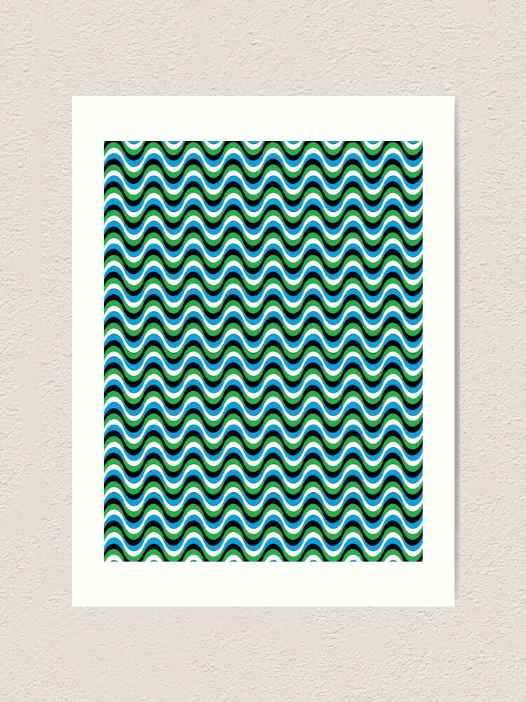 Alternate view of Psychedelic Waves Art Print