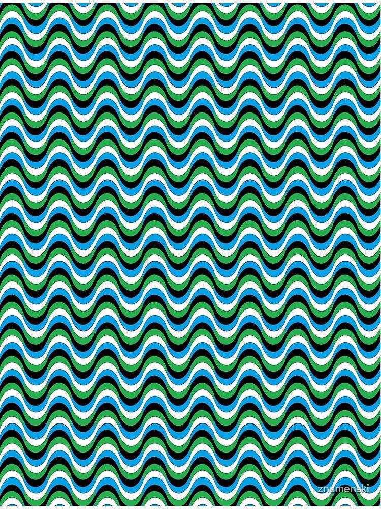 Psychedelic Waves by znamenski