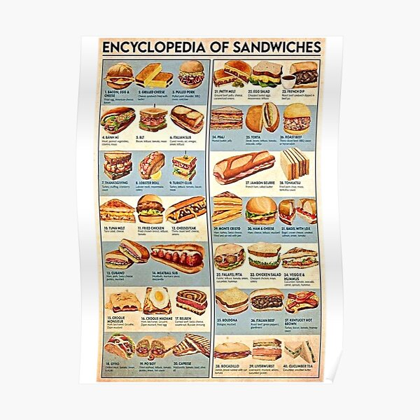 All the Sandwiches! Poster