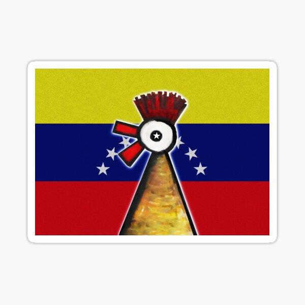 El Gallito  Venezolano Sticker