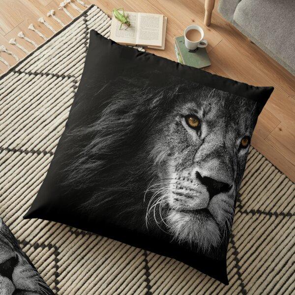 Lion Face Maks Floor Pillow