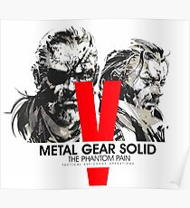 Metal Gear Solid V the Phantom Pain Poster