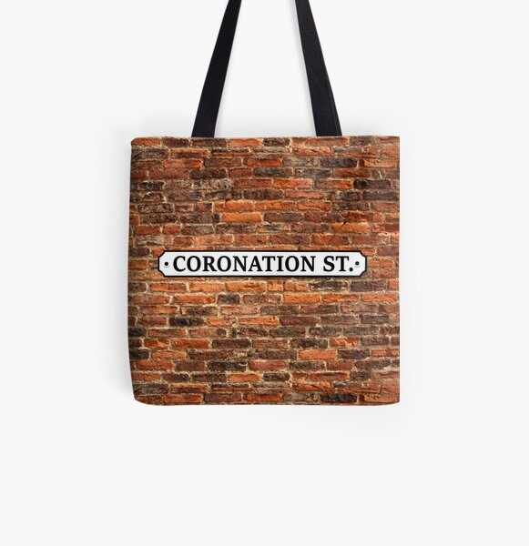 Coronation Street - Corrie All Over Print Tote Bag