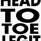 Head to toe legit by Tardis53