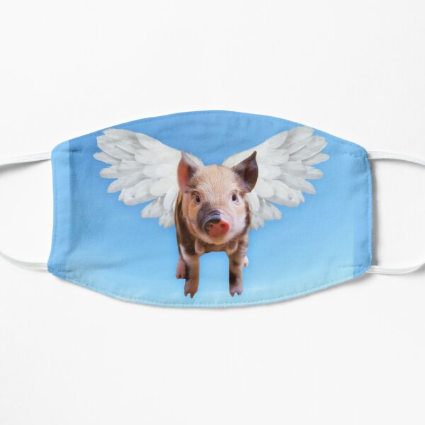 Pigs can fly Flat Mask