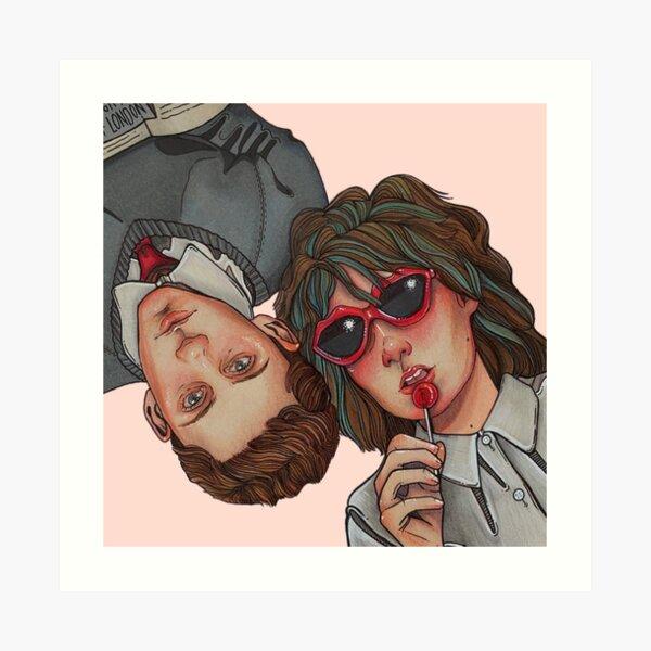 Dating Amber (Eddie + Amber) Art Print