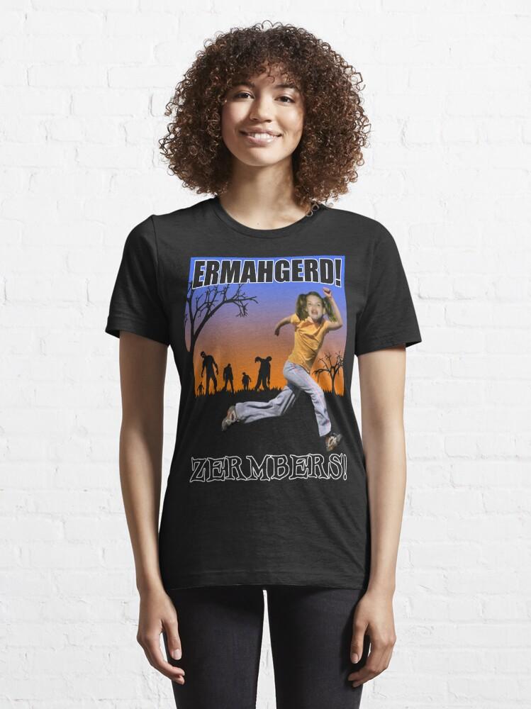 Alternate view of Ermahgerd! Zermbers! Essential T-Shirt