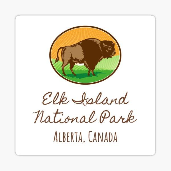 Elk Island National Park- Alberta, Canada Sticker
