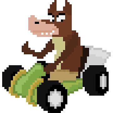 Crash team racing Dingodile by paasikivi93