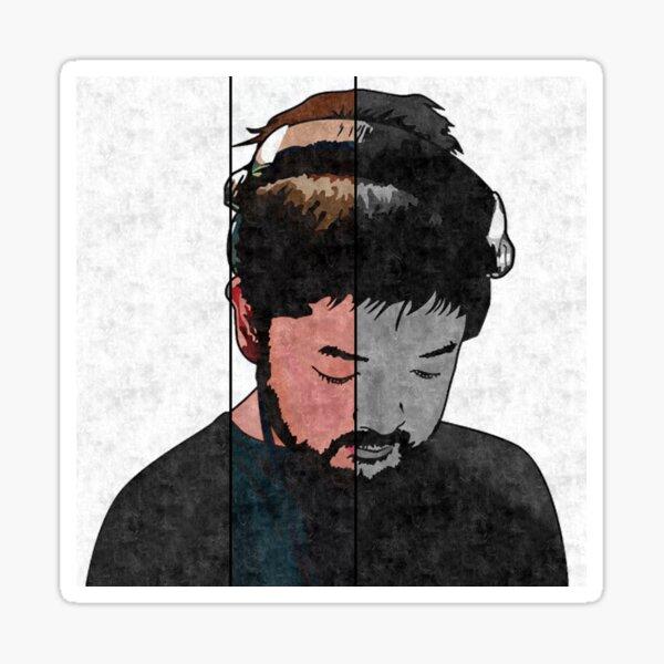 Nujabes Plain (Split) Sticker