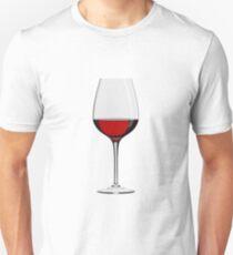 Wineglass Unisex T-Shirt