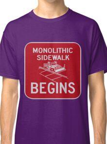 Monolithic Sidewalk Begins Classic T-Shirt