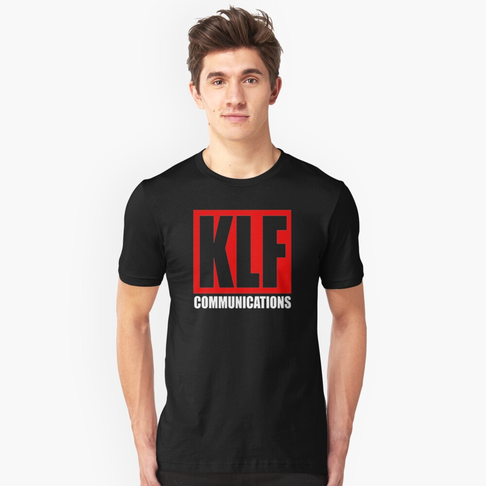 Red KLF Logo T-shirt for Men - S to 3XL