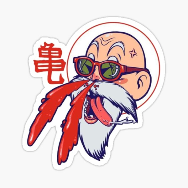 DRAGONE BALL MUTEN ROSHI Sticker