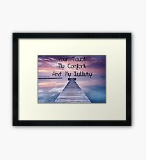 EASE Framed Print