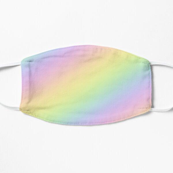 Pastel Goth Rainbow Flat Mask