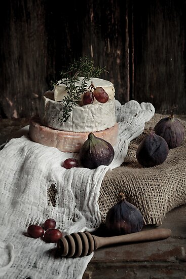 Still Life with Cheese by AugenBlicke