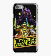 Turtles Strike Back iPhone Case/Skin