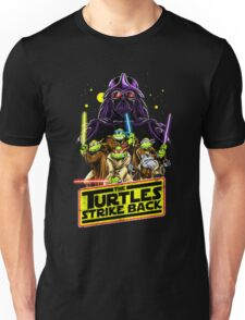 The Turtles Strike Back Parody T-shirt Unisex