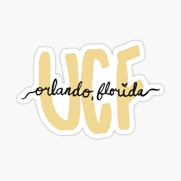 UCF Orlando Sticker