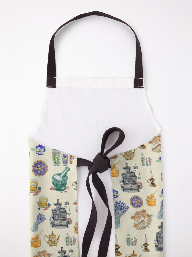 Alternate view of Kitchen Witch Clothing for Homemade Magic  Apron