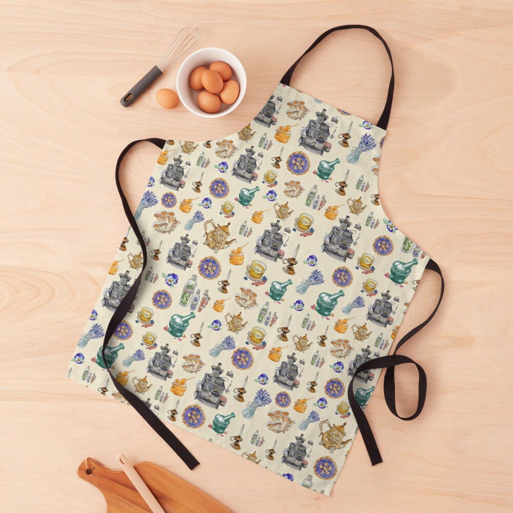 Kitchen Witch Clothing for Homemade Magic  Apron
